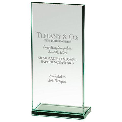 Austin Jade Glass Award - 185mm