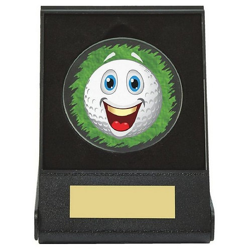 Black Case Golf Collectable - Happy - 60mm
