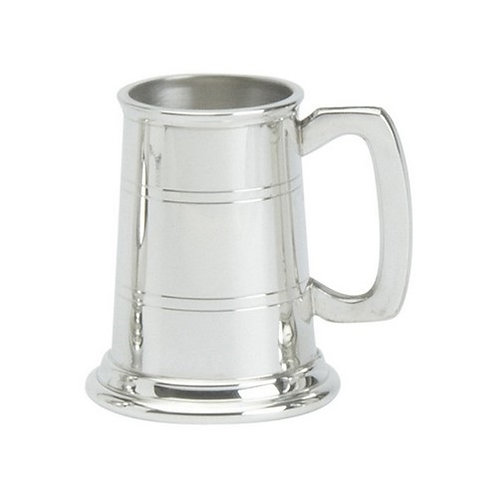 Childs Replica Tankard | Two Line | English Pewter | Free Engraving