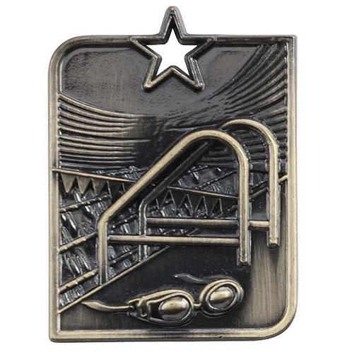 Centurion Star Series Swimming Medal Gold - 53x40mm