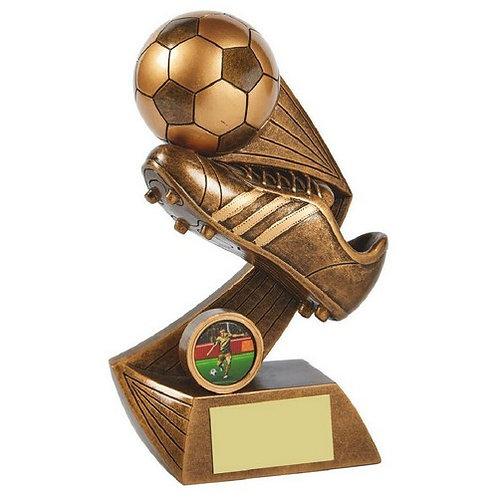 Antique Gold Boot/Ball Resin - 180mm