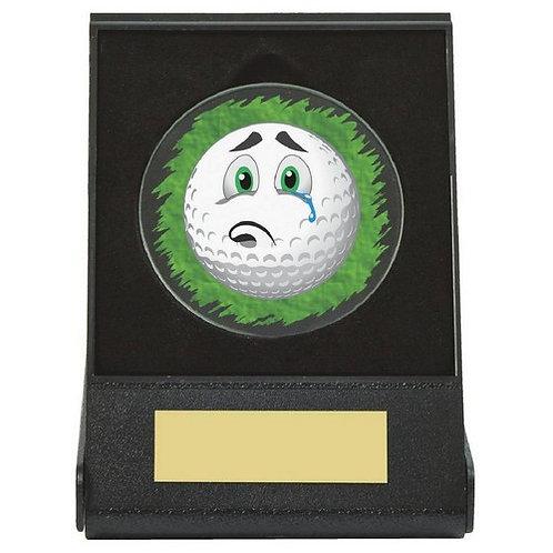 Black Case Golf Collectable - Sad - 60mm