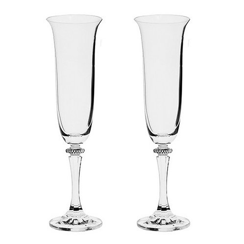 Pair Champagne Glasses In Gift Box