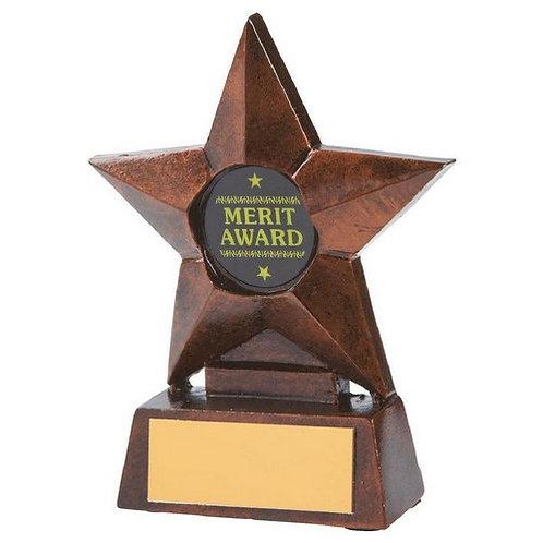 Bronze Resin Star Award - 100mm