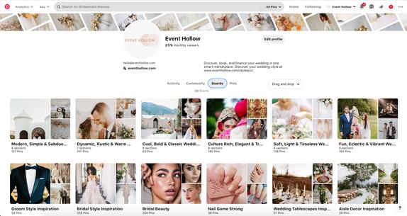 Pinterest Content - Event Hollow