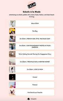 Eclectic à la Mode (personal blog) Instagram Links https://www.instagram.com/eclectic_a_la_mode/