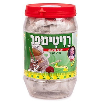 נופר תה רזיתי (רזיטונית) 100 שקיקיות