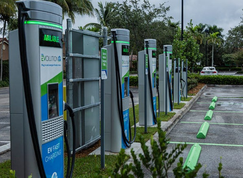 FPL debuts first electric vehicle fast-charging station at Midtown in Gardens