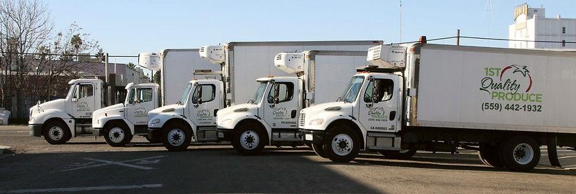 1st Quality Produce Trucks