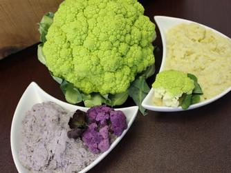 Mashed Colored Cauliflower