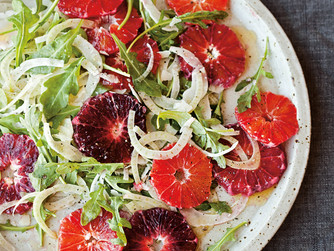 Blood Orange & Arugula Salad with Fennel