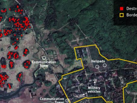 Burma: Military Burned Villages in Rakhine State