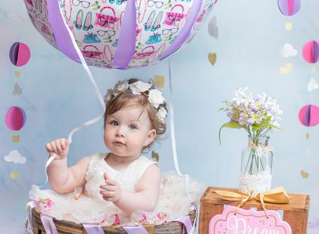 Hot Air Balloon Cake Smash