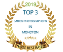 top 3 best babies photographers in mocton three best rated Irina Art Photography newborn baby