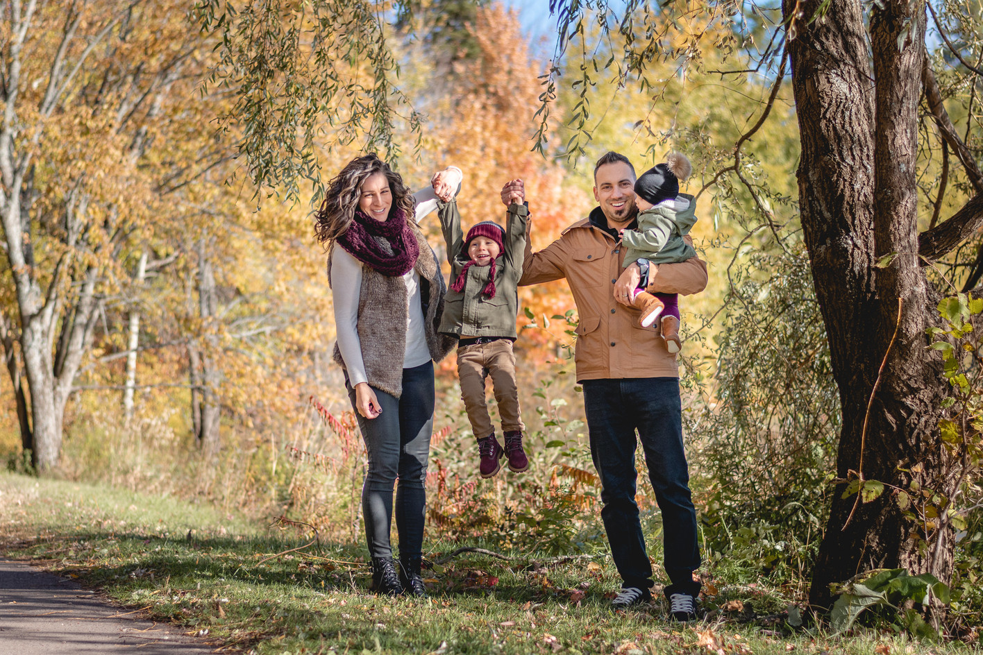 Moncton family session mini session photo picture outdoors portrait fall spring summer