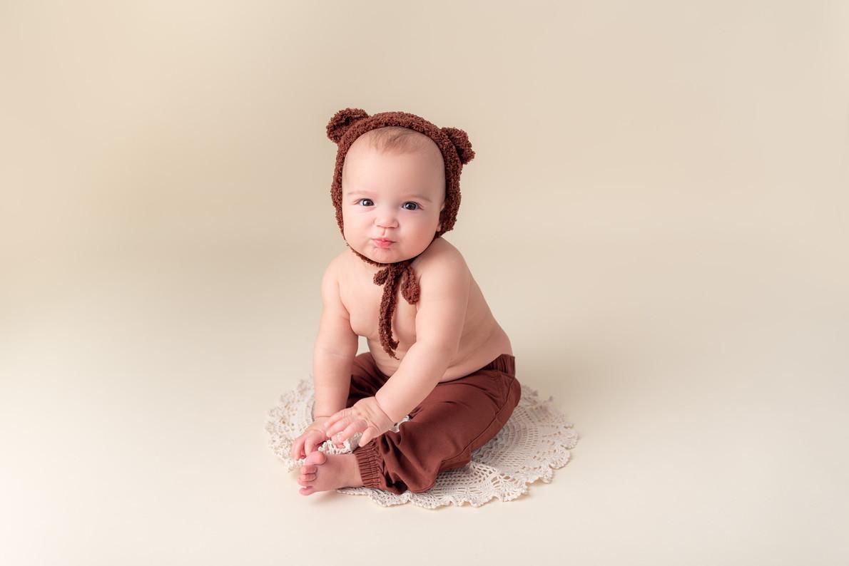 Moncton baby photo picture milestone months portrait