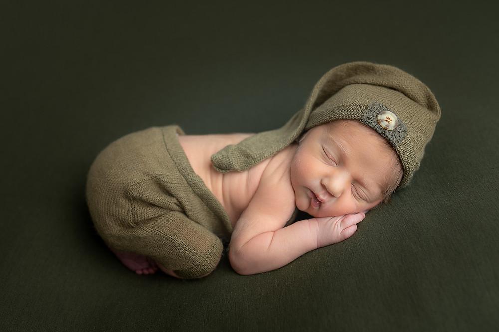 newborn baby photos photographer Moncton pictures boy