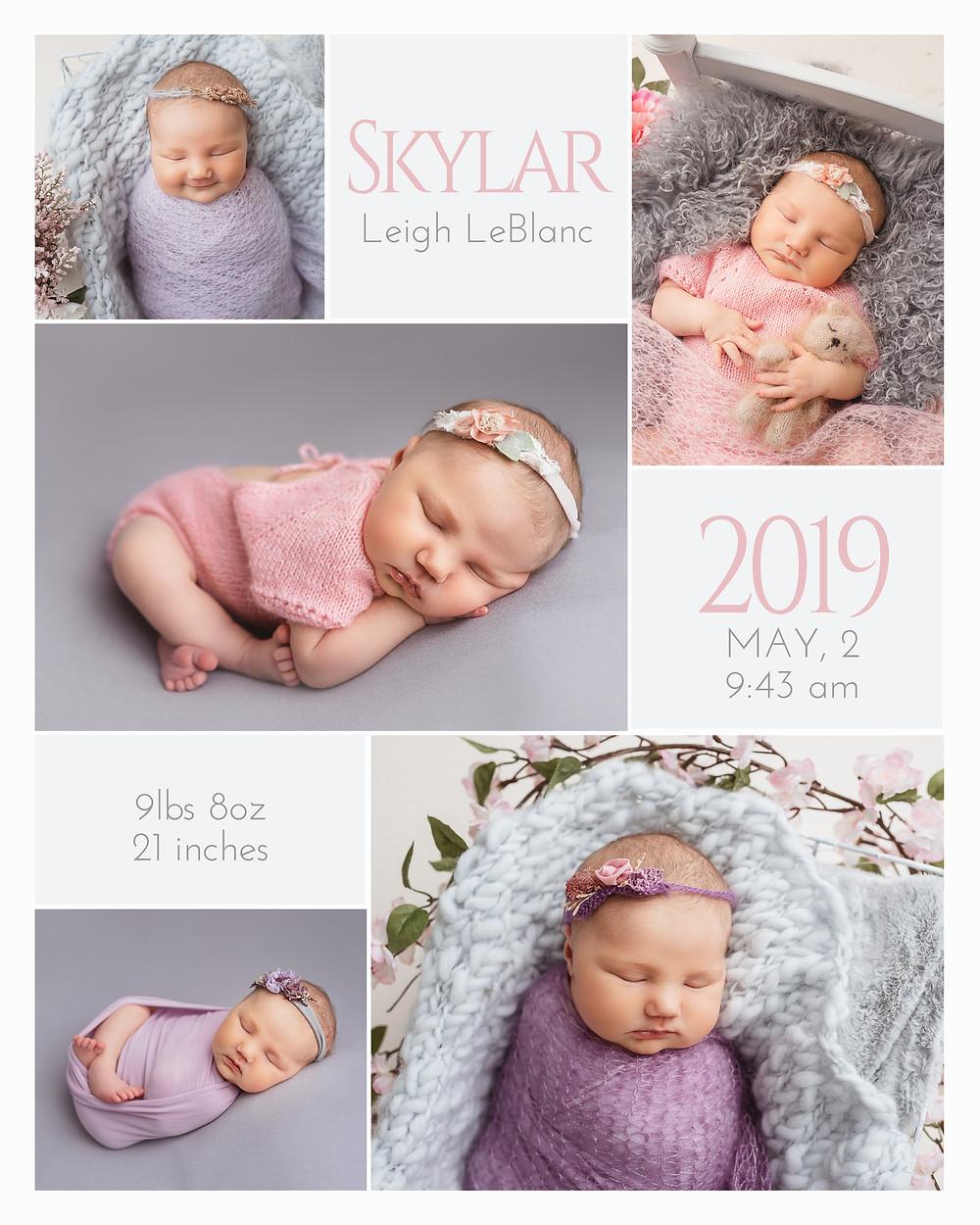 Newborn photos pictures Moncton baby photographer photography