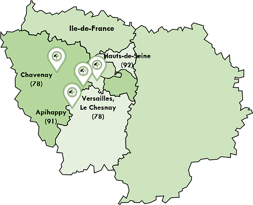 IDF Apimelis ruches region ile De France