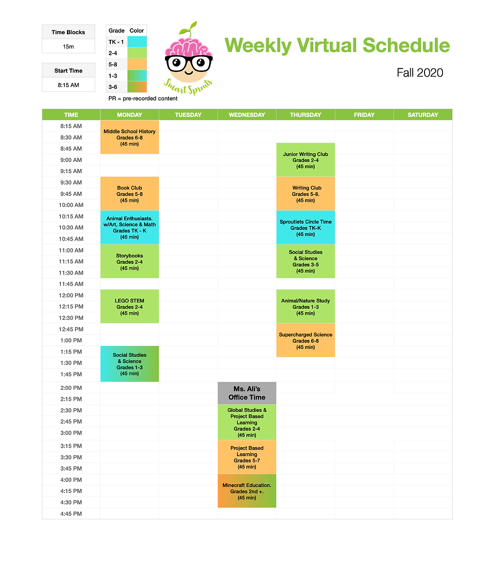 Weekly Virtual Schedule - Fall 2020.png