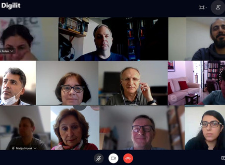 The 3rd online meeting of the E-DigiLit Project
