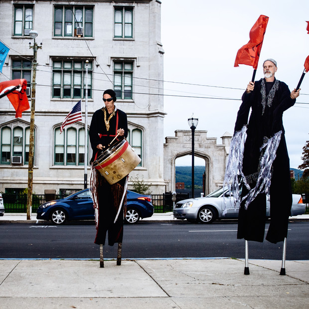 NACL Street Performers at Scranton Fringe Fest 2016
