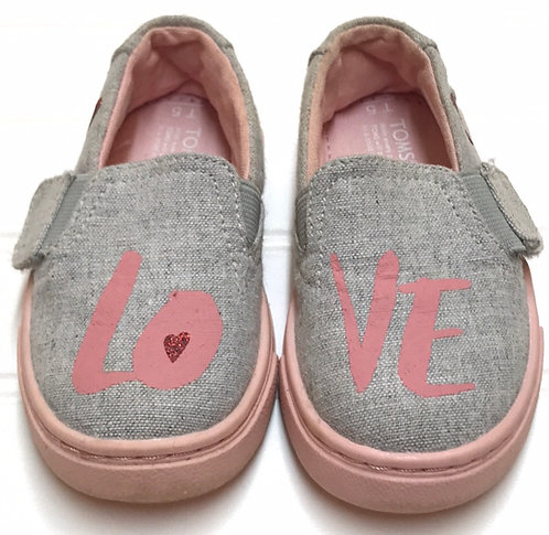 Toms Shoes Size 5