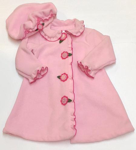 Bonnie Baby Coat & Hat Size 24M