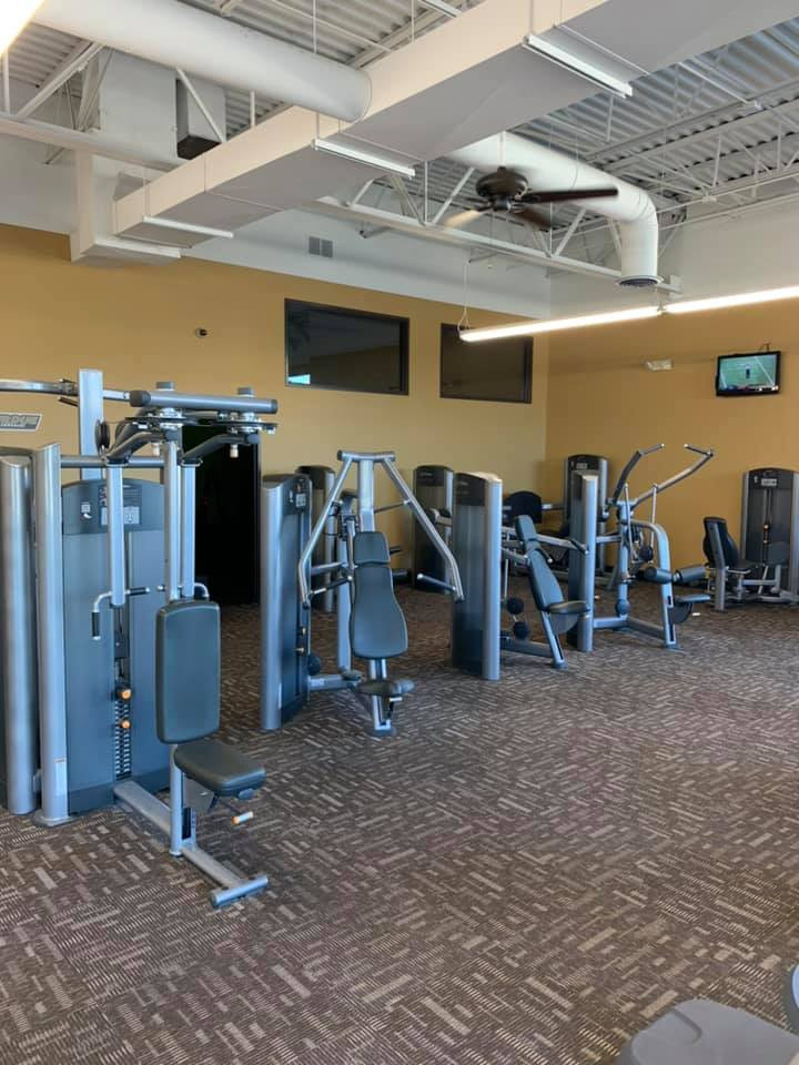 Life Fitness Upper and Lower Strength Equipment!