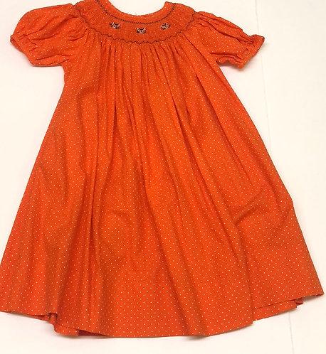 Smocked tiger dress size 3