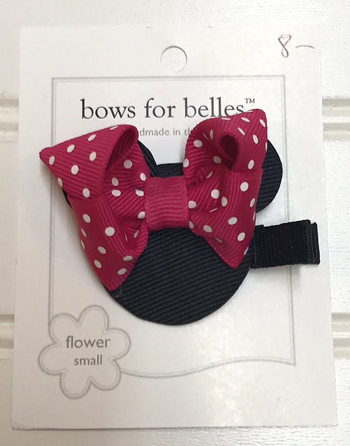 Pink Mini Mouse Bow Structure