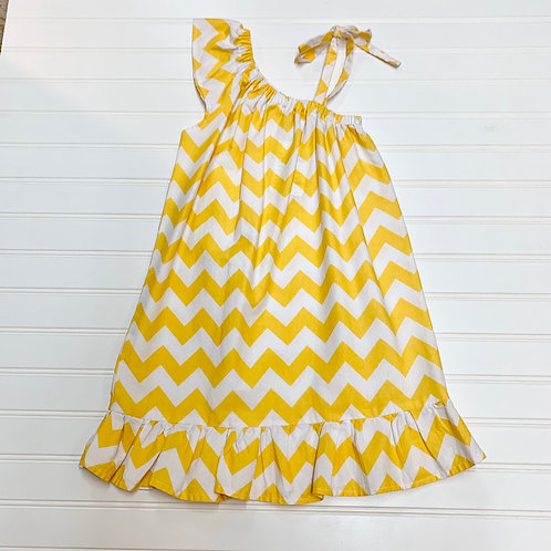 Yellow Chevron Size 5
