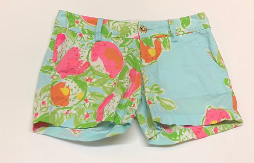 Lilly Pulitzer size 00 shorts