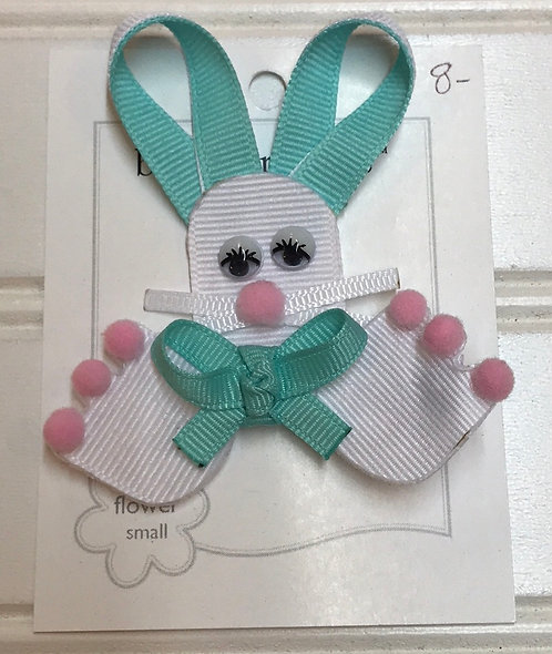 Turquoise Rabbit Bow Structure