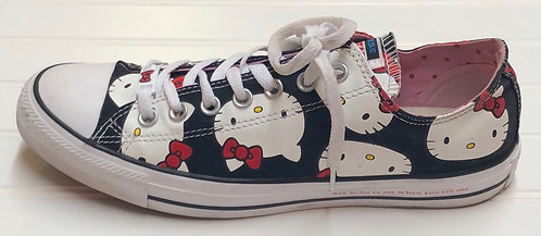 Hello Kitty Converse Sneakers Size 11