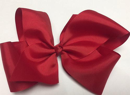 "Medium Red Hair Bow 5"""