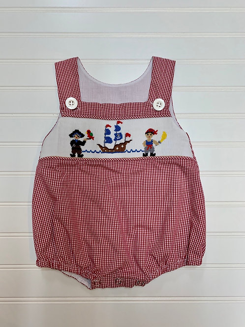 Boutique Smocked Size 3-6m
