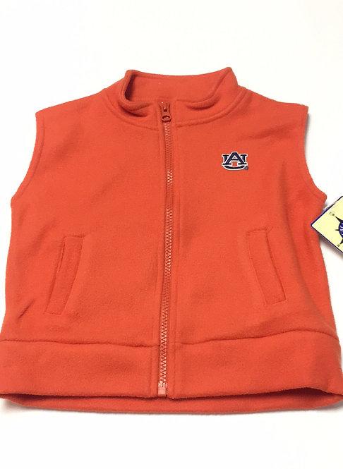 Auburn Fleece Vest Size 3