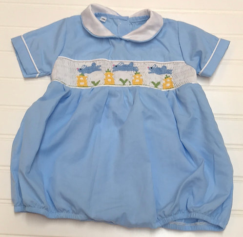 Smocked Bubble Outfit Size 3M