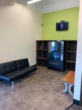 Cubby Area For Belongings!