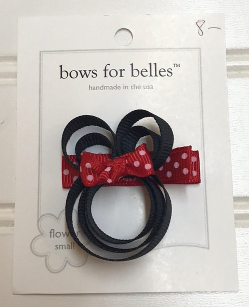 Red Mini Mouse Bow Structure