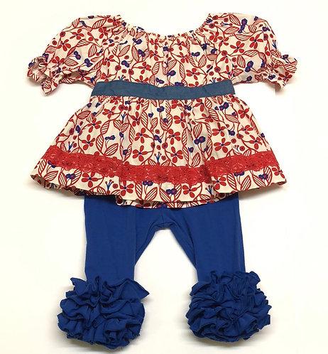 Matilda Jane shirt and pants set size 2T