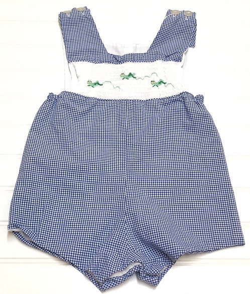 Boutique Smocked Outfit Size 12M
