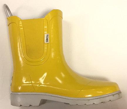Toms Rain Boots Size 4