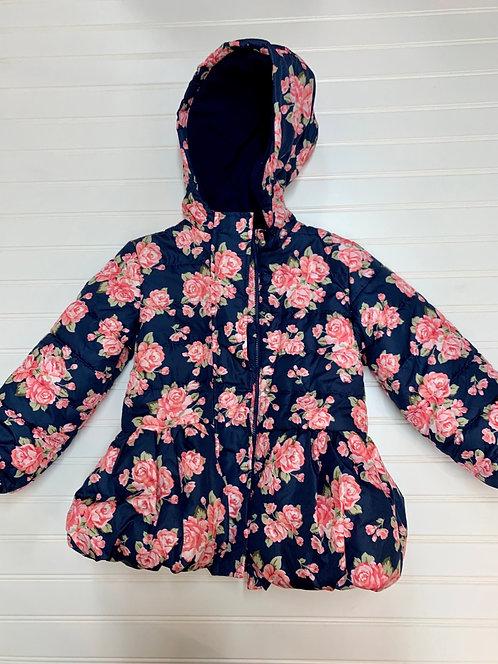 Floral coat Size 4
