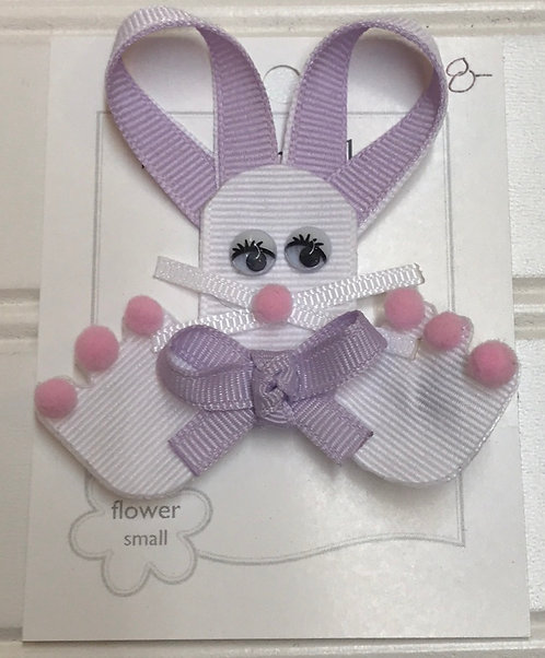 Purple Rabbit Bow Structure