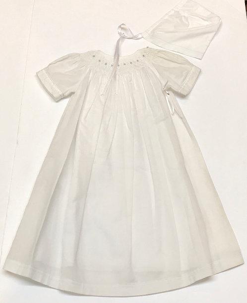 Kissy Kissy Gown & Bonnet Size NB