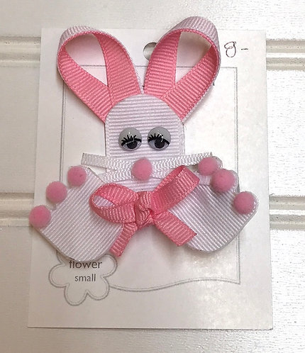 Pink Rabbit Bow Structure