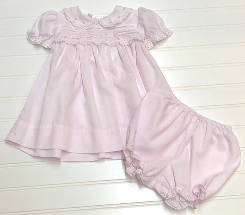 FriedKnit Creations Smocked Outfit Size 6M
