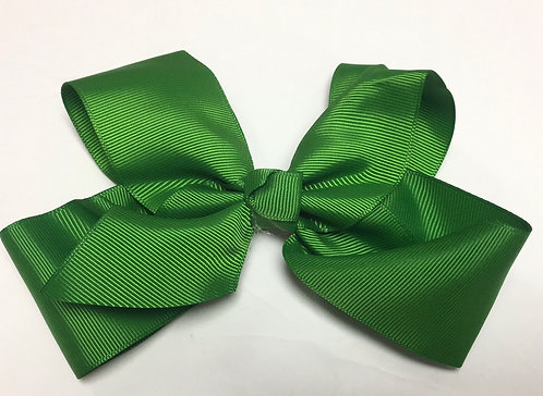 Medium Kelly Green Hair Bow 5""
